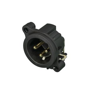 Neutrik NC3MAH XLR Chassis Connector